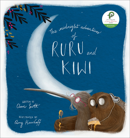 Midnight Aventures of Ruru and Kiwi (PRE-ORDER ONLY)