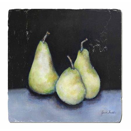 Midnight Pears Trivet