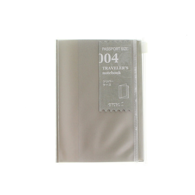 Midori traveler's notebook passport size accessory - 004 - zipper pocket