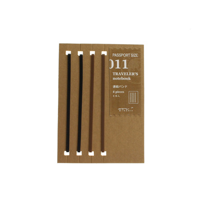 Midori traveler's notebook passport size accessory - 011 - connecting bands