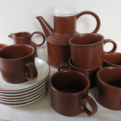 Midwinter coffee or tea set
