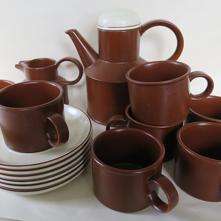 Midwinter coffee or tea set