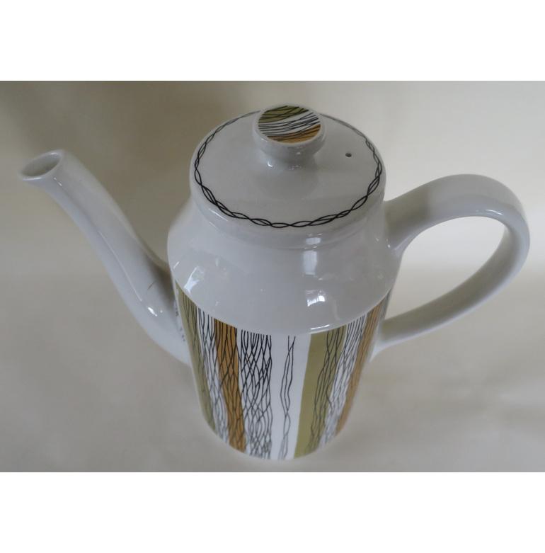 Midwinter Sienna coffee pot