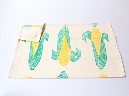 Mielies Tea Towel