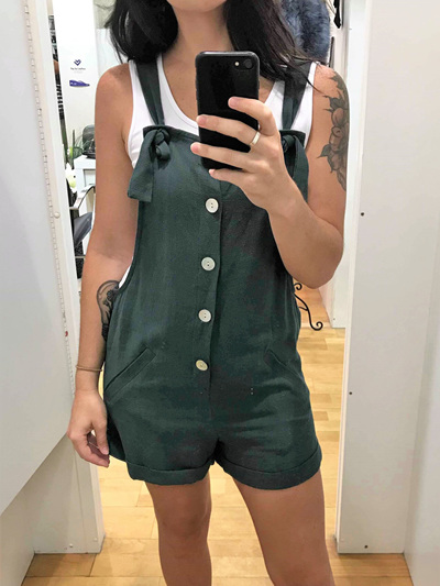 Miki Overalls - Green