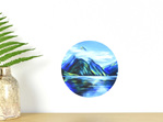 Milford Sound wall decal dot