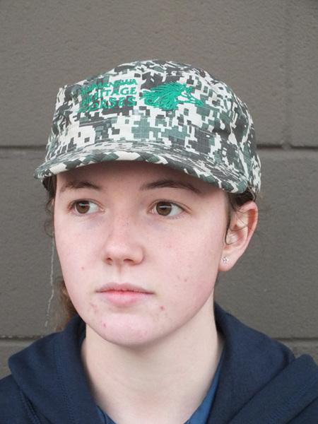 Military Style Cap-Camo