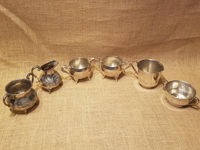 Sugar Bowls and Milk jugs