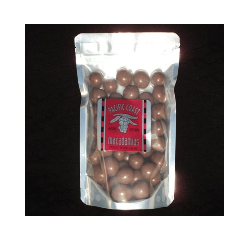 milk chocolate coated nuts