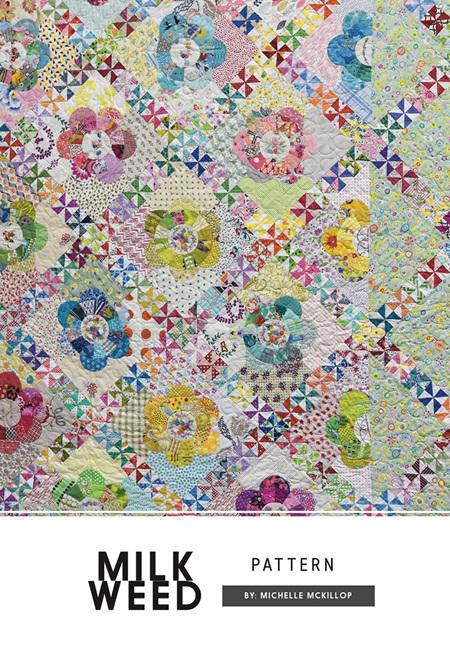 Milk Weed Pattern by Michelle McKillop