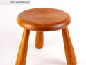 milking stool - ancient kauri