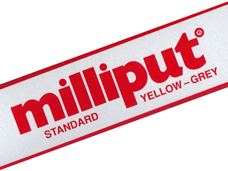 Milliput Standard Yellow-Grey Putty