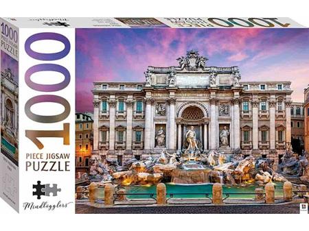Mindbogglers 1000 Piece Jigsaw Trevi Fountain, Italy