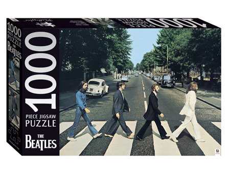 Mindbogglers 1000 Piece Puzzle The Beatles Abbey Road