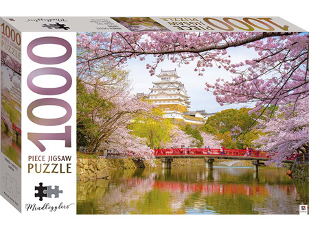 Mindbogglers Series 1000 Piece Jigsaw Puzzle 14 Himeji Castle, Japan