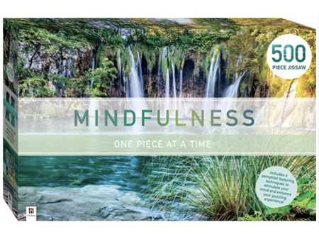Mindfulness 500 Piece Jigsaw Puzzle Lagoon