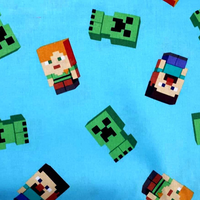 Minecraft Blue