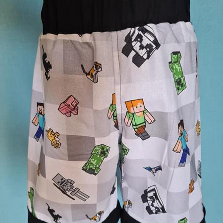 Minecraft Shorts Size 4