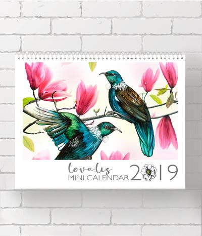 * MINI 2019 Calendar  * SOLD OUT