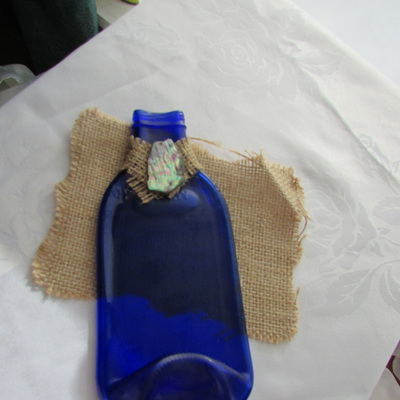 Mini Blue Bottle