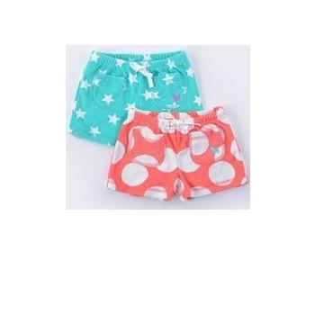 179e5c742 Mini boden Coral spot toweling shorts