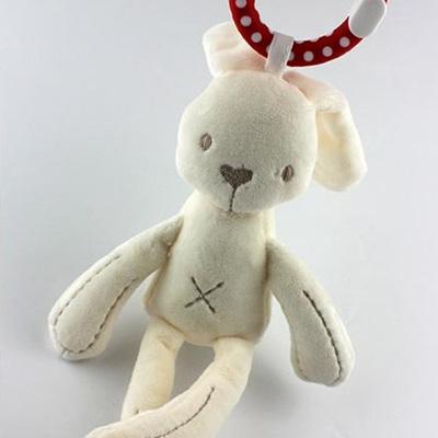 Mini Bunny with teething ring