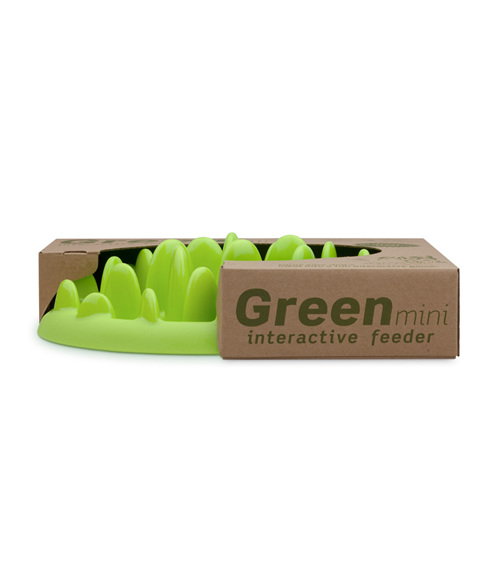Mini Green Interactive Dog Feeder/Slow Feeder by Northmate