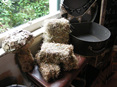 mini hay bales hire