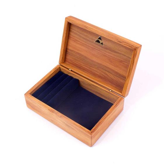 mini jewellery box navy