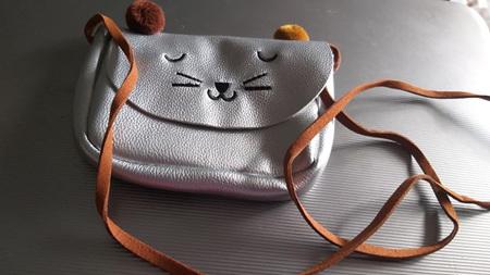 Mini Kids Bag - silver