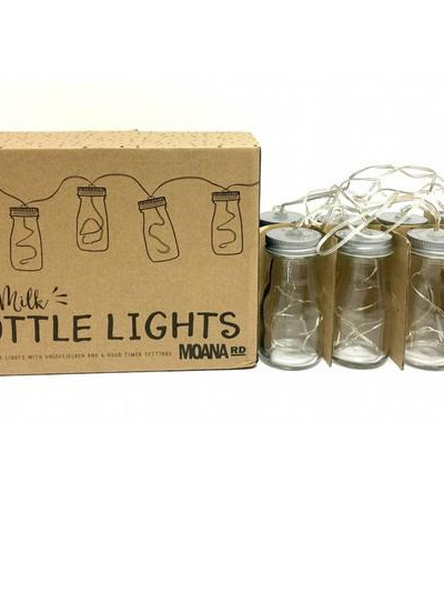 Mini Milk Bottle Lights