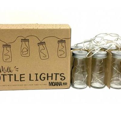 Mini Milk Bottle Lights