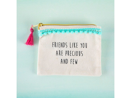 Mini Pouch-Precious Friends