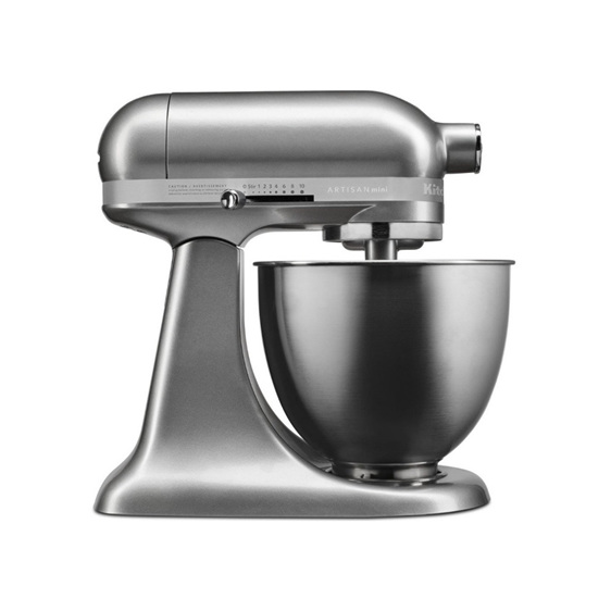 Mini Standing Mixer - Contour Silver
