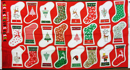 Mini Stockings Advent Calendar Kit