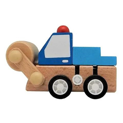 Mini Wooden Steamroller