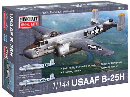 Minicraft 1/144 USAAF B-25H