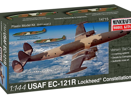 "Minicraft 1/144 USAF EC-121R Lockheed® Constellation® Vietnam ""Bat Cat"""