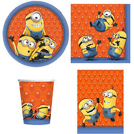 Minions 40 piece party pack
