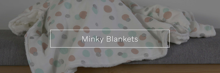 Minky Blankets, designed and made in New Zealand