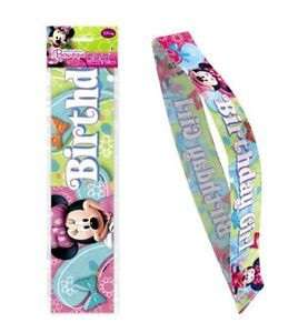 Minnie Mouse - Birthday Girl Sash