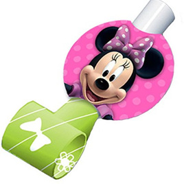 Minnie Mouse - Blowouts pack of  8
