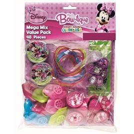 MInnie Mouse - Bowtique 48 Piece Party favour pack