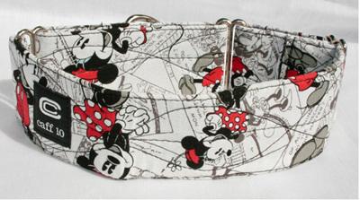 "Minnie Mouse Designer 2"" Collar - caff 10"
