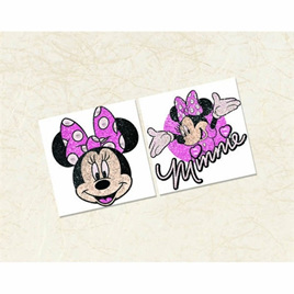 Minnie Mouse - Glitter Body Jewelry