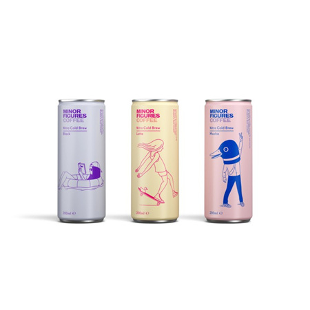 Minor Figures Cold Brew Cans