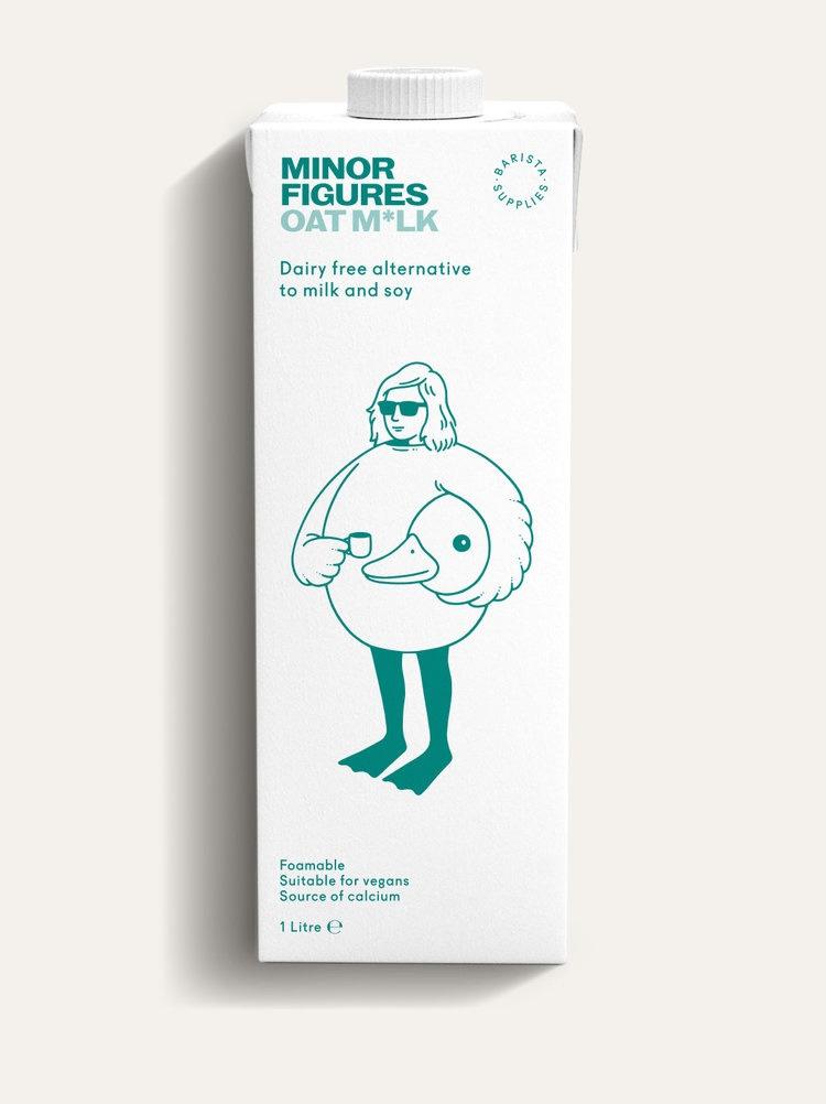 Minor Figures Oat Milk 1L