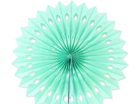 Mint paper fan - medium