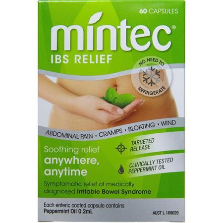 Mintec IBS Relief 60 Capsules