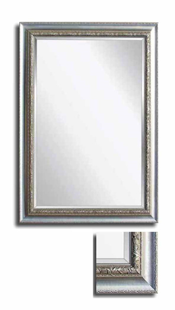Mirror Italian Collection Silver on Timber Frame